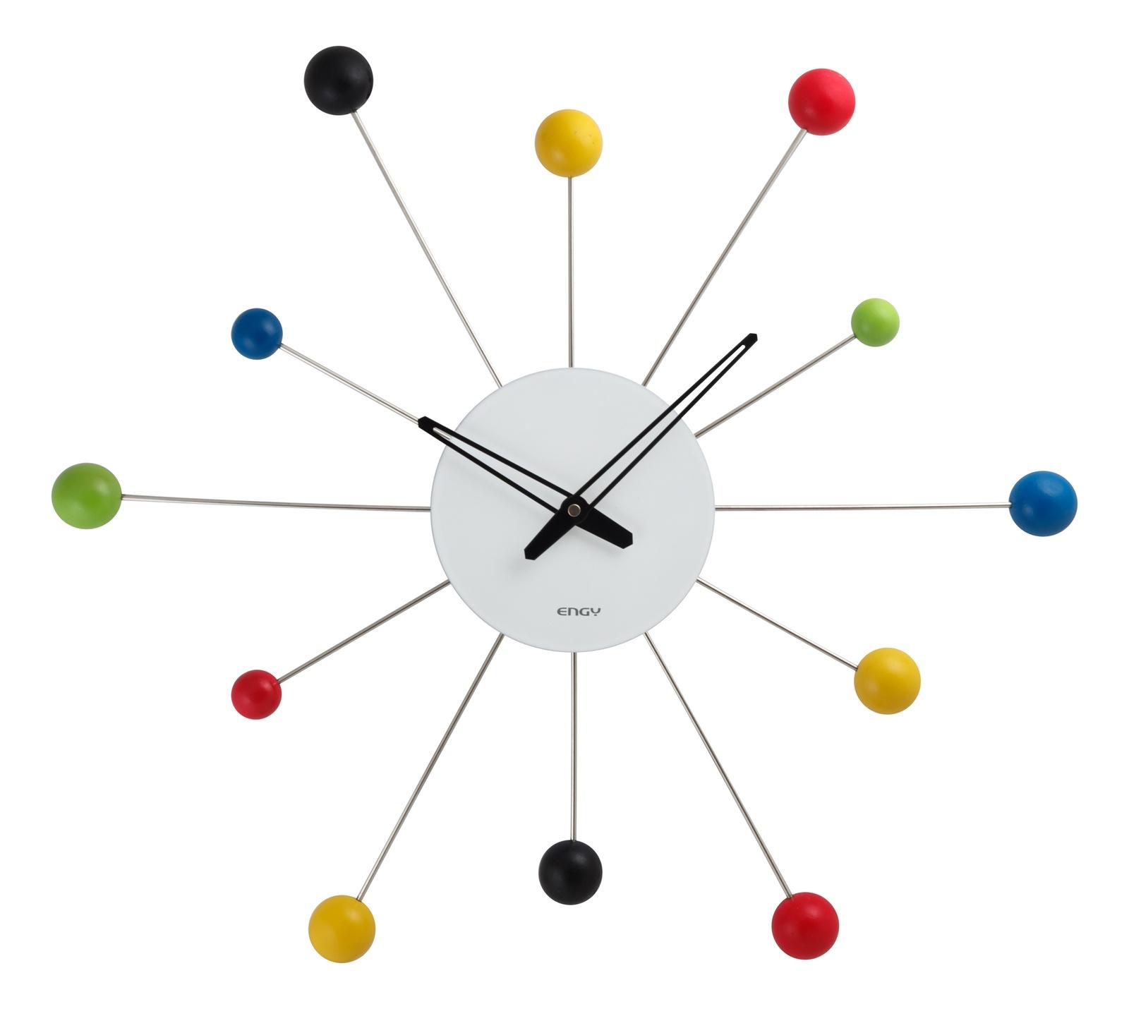 Настенные часы ENGY ЕС-59, 54 009429, серебристый часы настенные engy d300мм