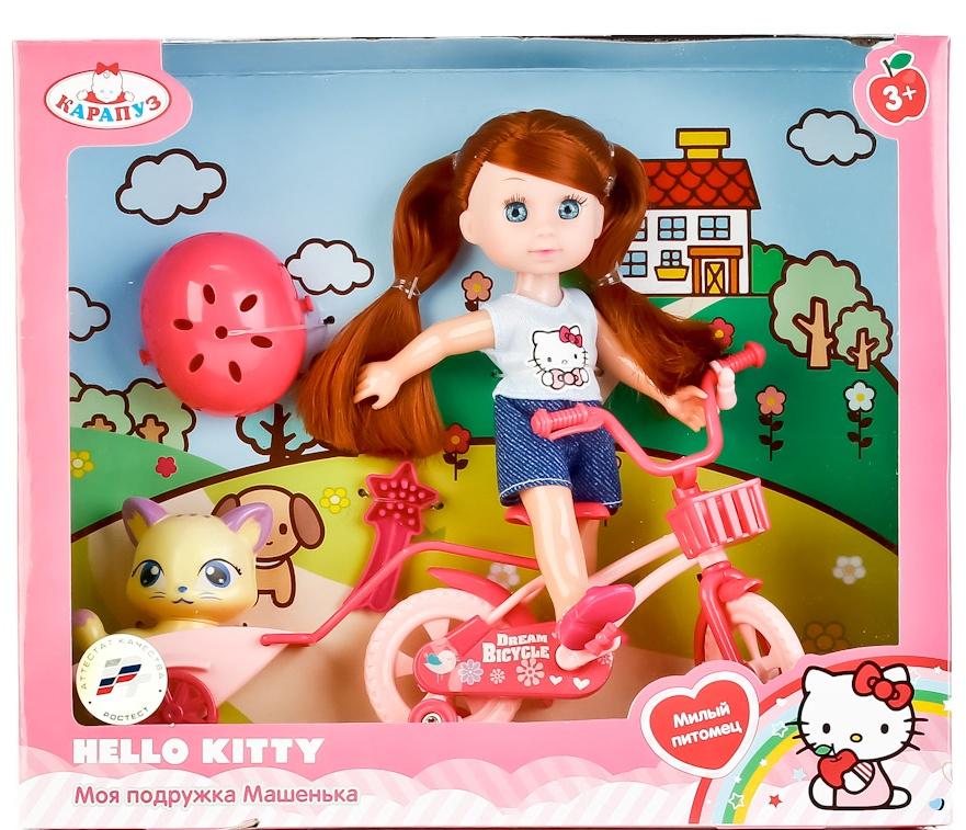 Кукла Карапуз HELLO KITTY, 248778 цена