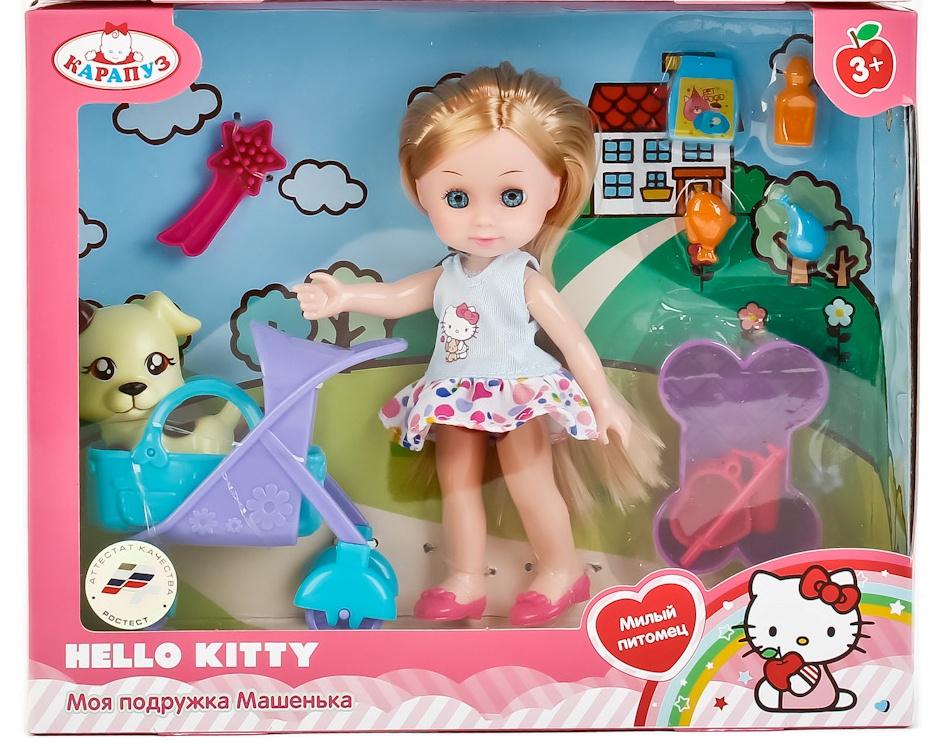 Кукла Карапуз HELLO KITTY, 248777 цена