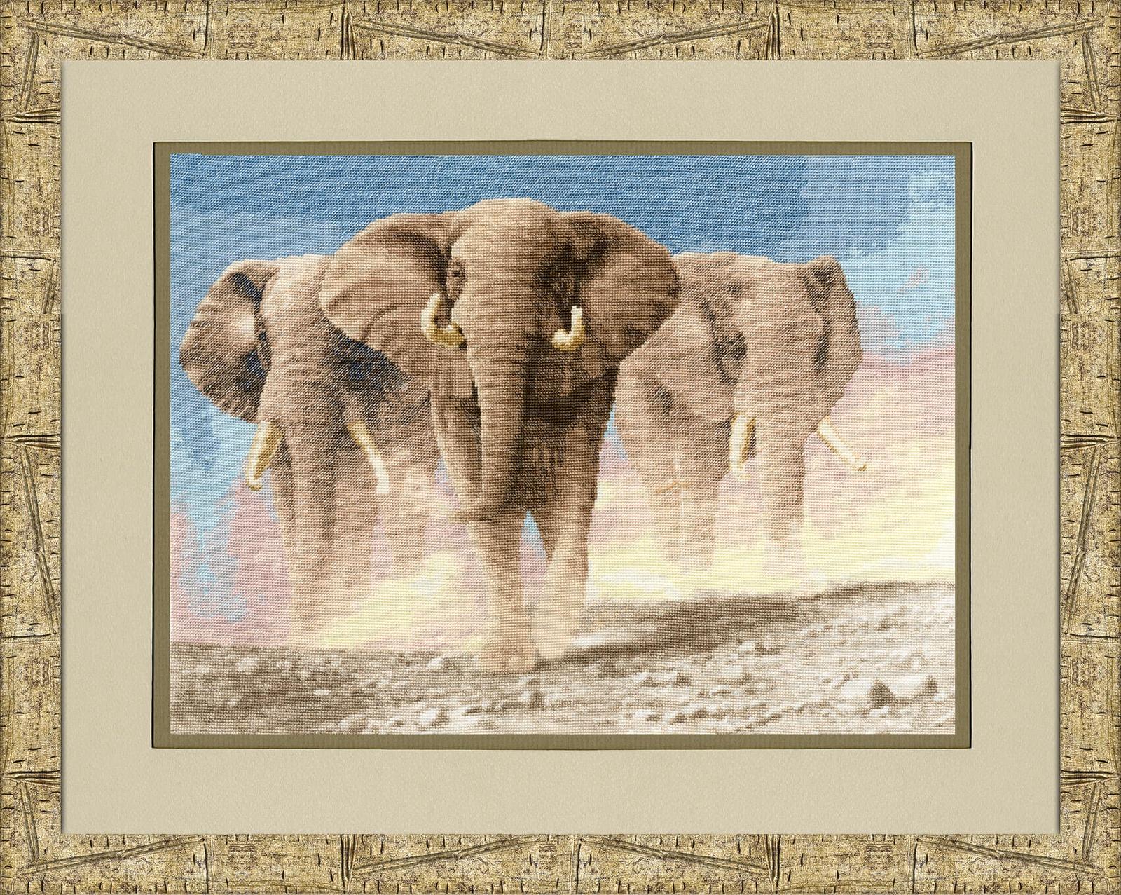 Набор для вышивания Золотое Руно Сердце Африки набор для вышивания золотое руно замечательное лето