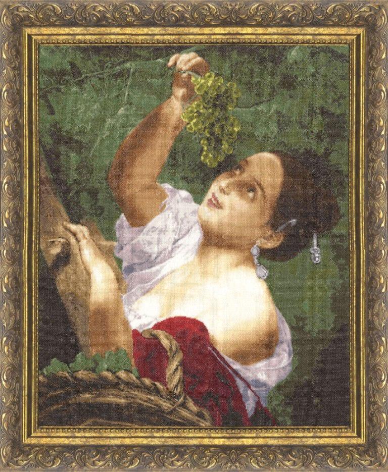 Набор для вышивания Золотое Руно Итальянский полдень набор для вышивания золотое руно пионы в вазе