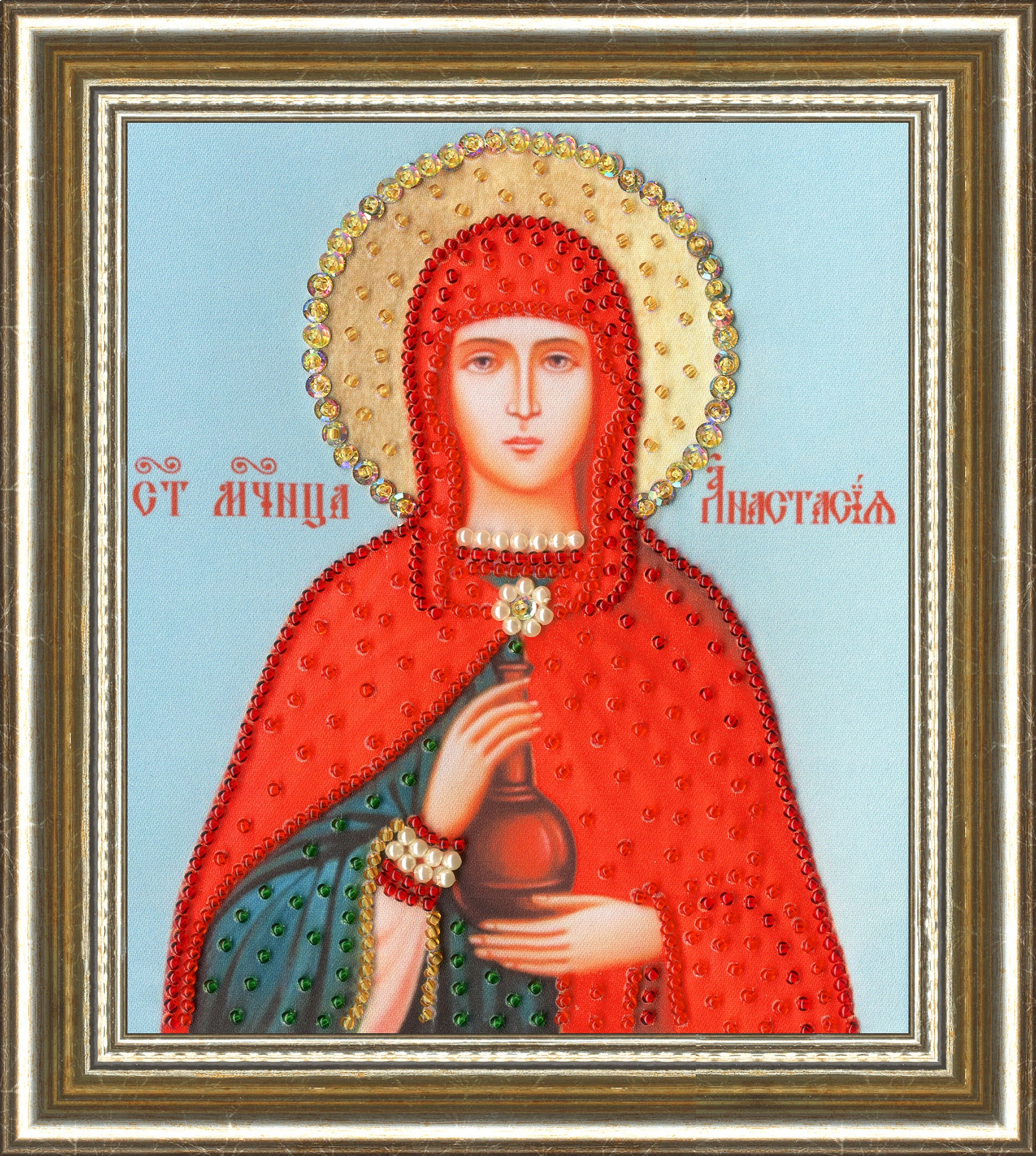 Набор для вышивания Золотое Руно Рисунок на ткани рт130 икона святой мученицы ирины рисунок на ткани золотое руно золотое руно