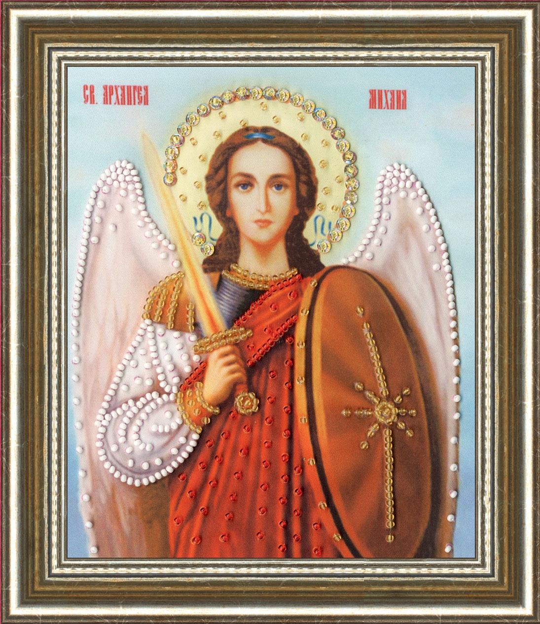 Набор для вышивания Золотое Руно Икона Архангела Михаила икона михаила архангела
