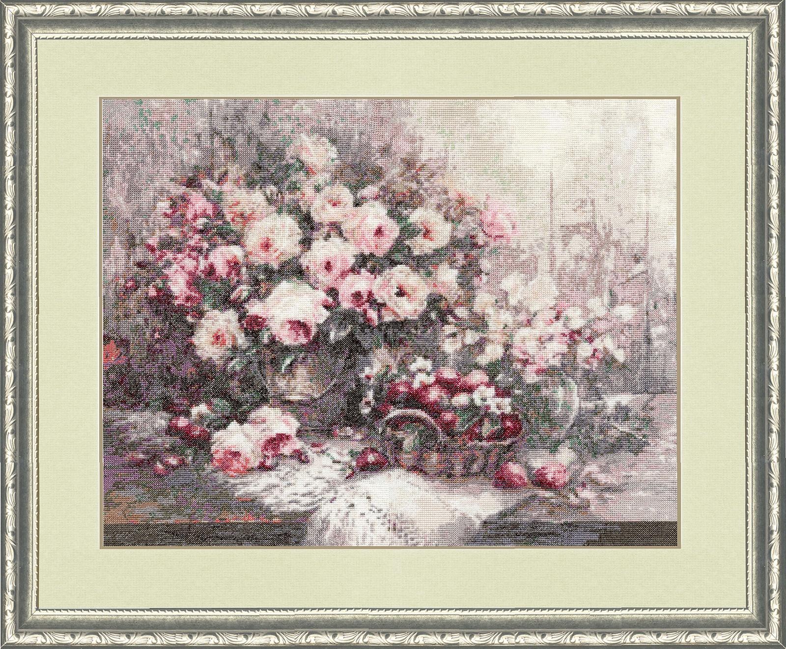 Набор для вышивания Золотое Руно Розовый Прованс набор для вышивания золотое руно замечательное лето