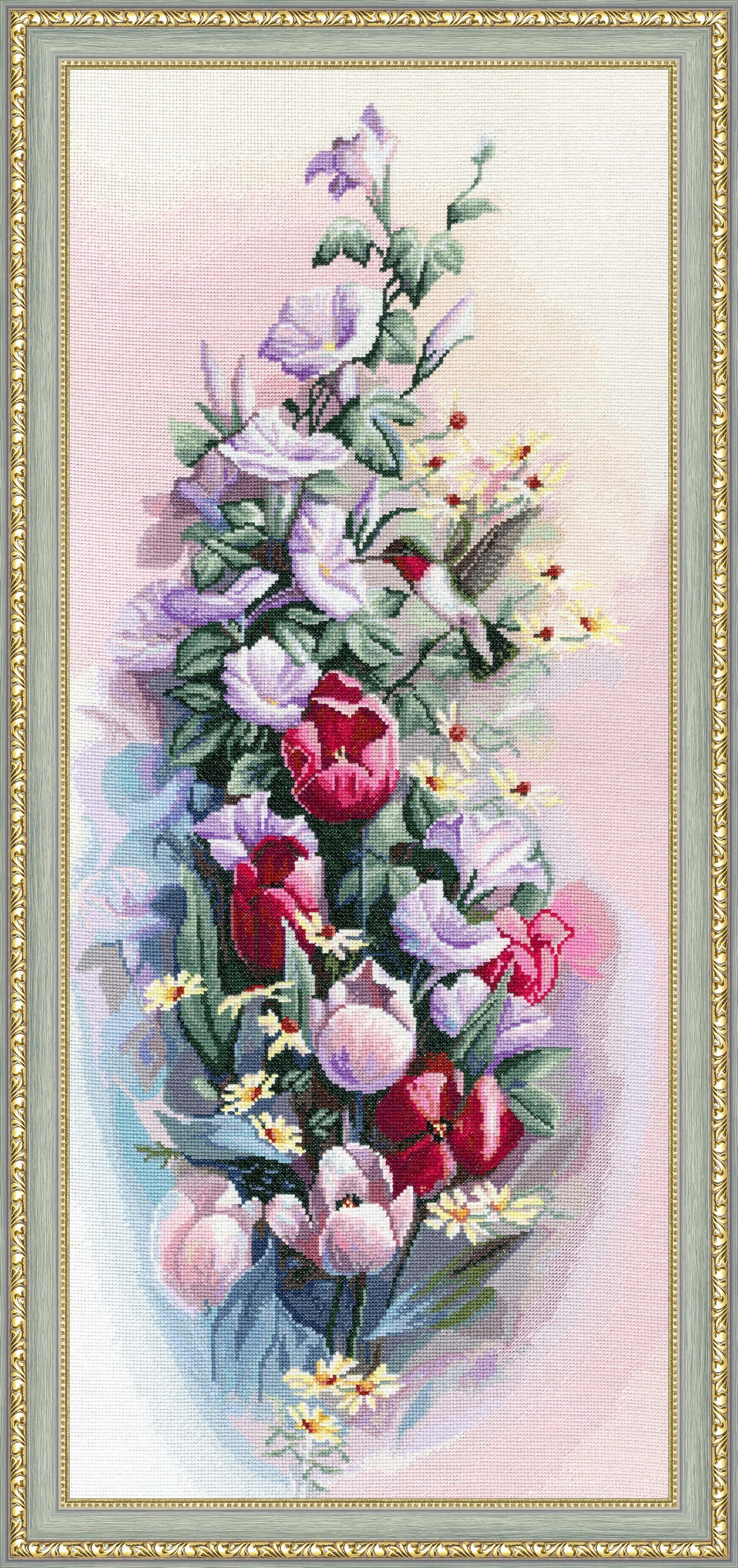Набор для вышивания Золотое Руно Рапсодия набор для вышивания золотое руно пионы в вазе