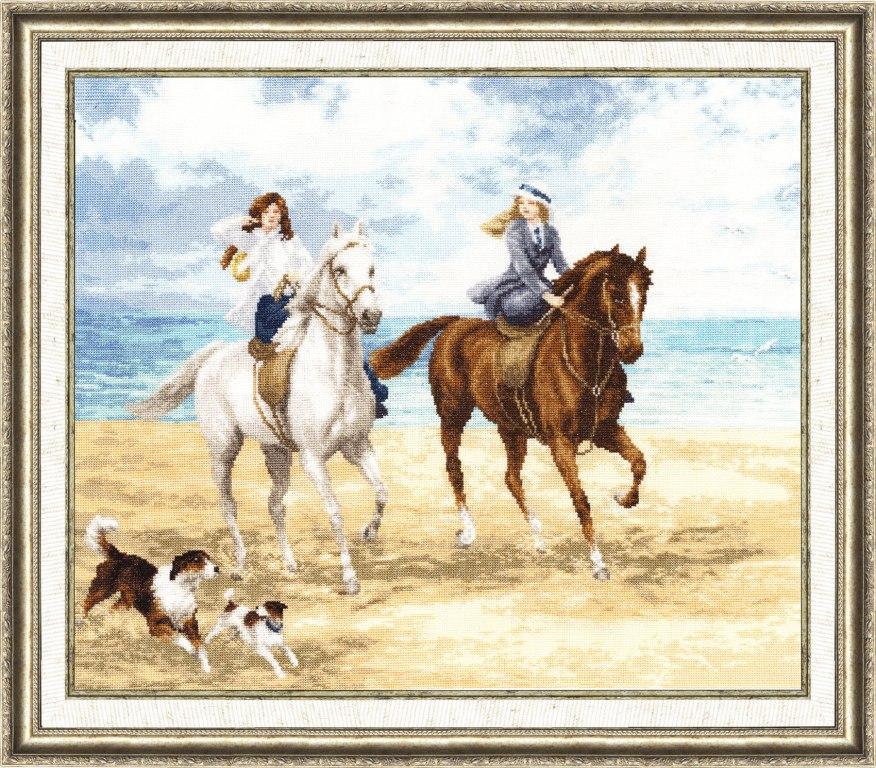 Набор для вышивания Золотое Руно Морская прогулка набор для вышивания золотое руно солнечный день