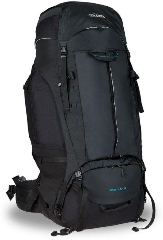 Рюкзак туристический Tatonka Bison, цвет: черный, 120+10 л