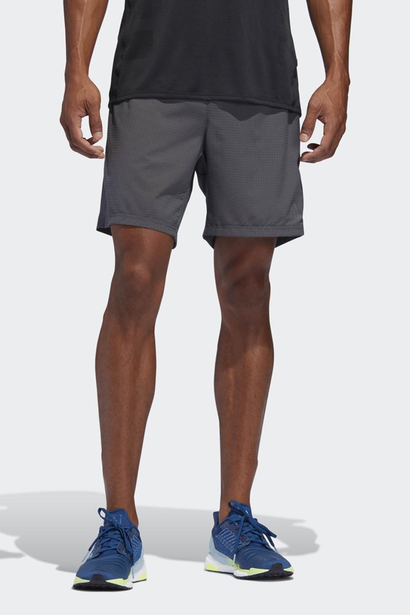 Шорты мужские Adidas Supernova Short, цвет: серый. DQ1901. Размер XL (56/58)DQ1901