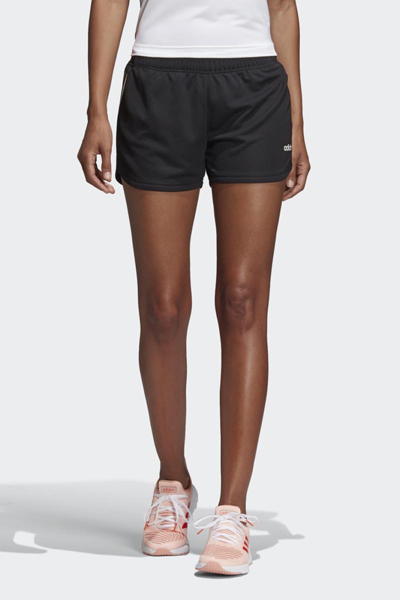 Шорты женские Adidas W D2M 3S Kt Sht, цвет: черный. DS8725. Размер XS (40/42)DS8725