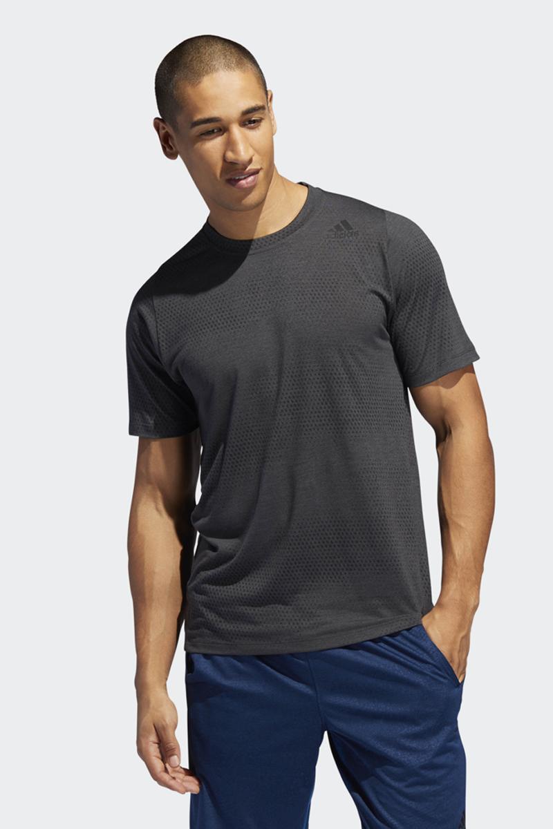 Футболка мужская Adidas Fl_Tec A Gf Aer, цвет: черный. DU1366. Размер 3XL (64/66)DU1366