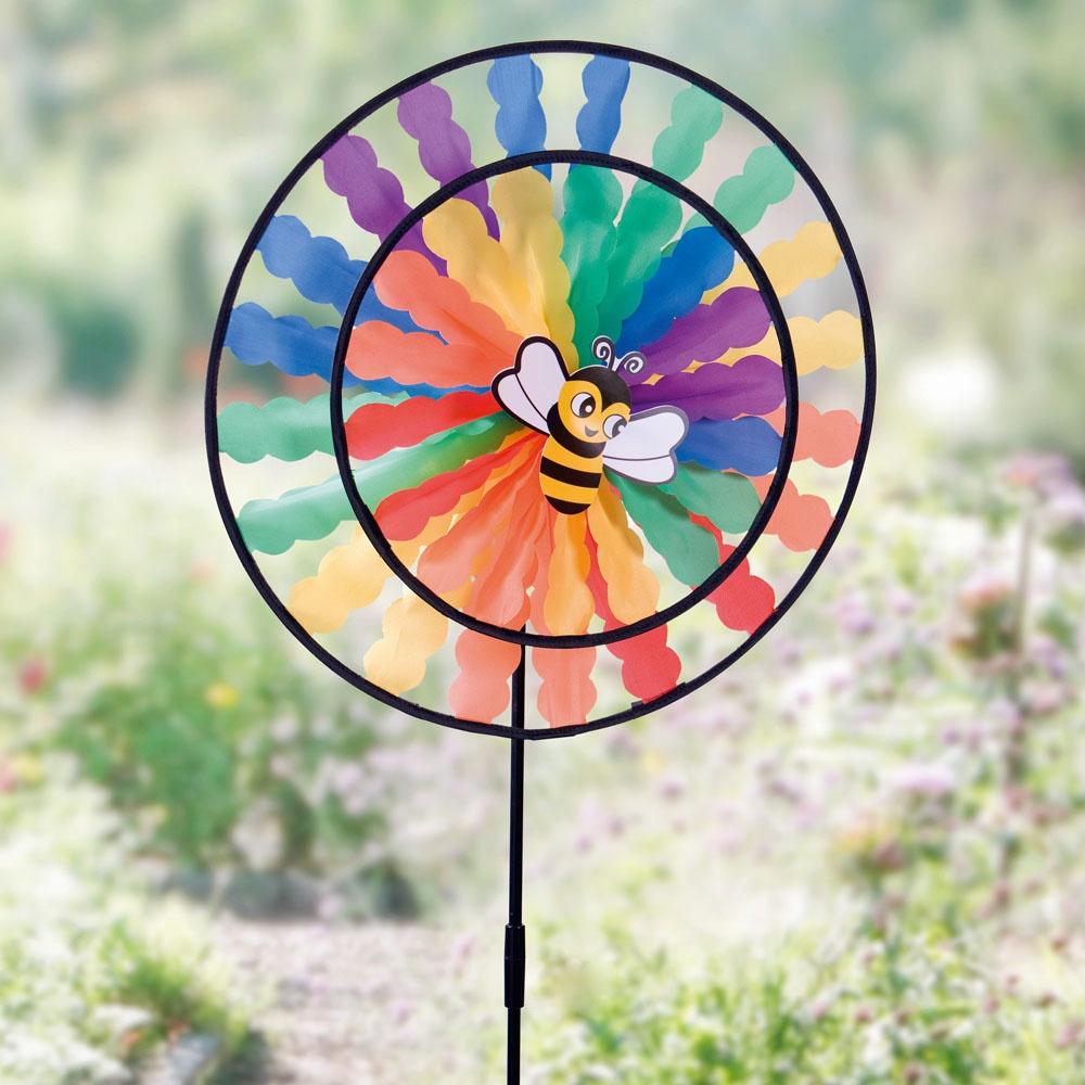 Фигурка садовая ХИТ - декор Вертушка Цветная карусель, 06327, 06327