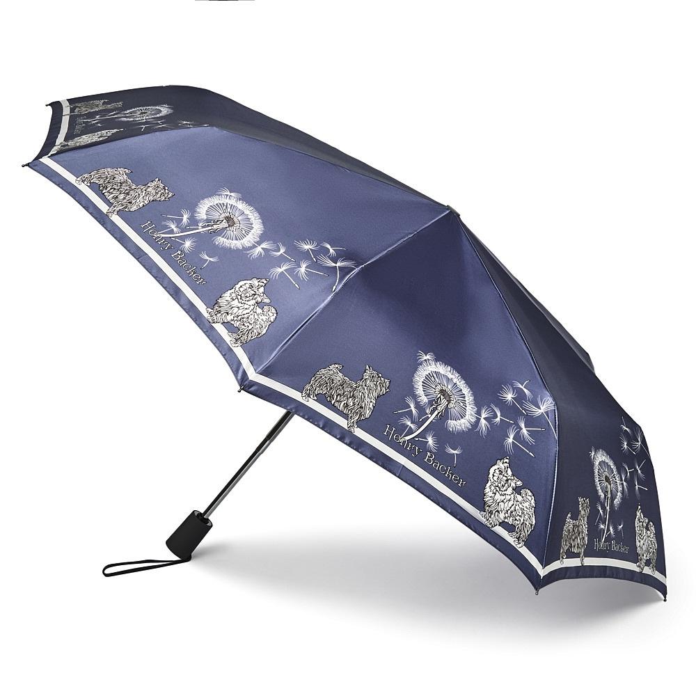 Зонт Henry Backer Q2104 Dogs, Q2104 Dogs, синий шарф женский henry backer цвет розовый hb1605b14 63 размер 100 см х 200 см