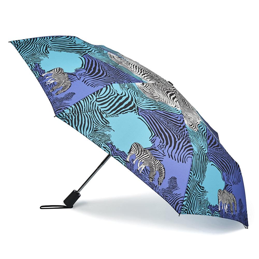 Зонт Henry Backer Q2201 Zebra, Q2201 Zebra, синий шарф женский henry backer цвет розовый hb1605b14 63 размер 100 см х 200 см