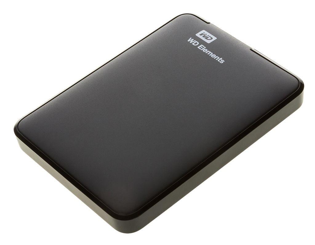 Портативный внешний жесткий диск WD HDD 1 TB Elements SE Portable, 2.5, USB 3.0, черный внешний жесткий диск hdd накопитель