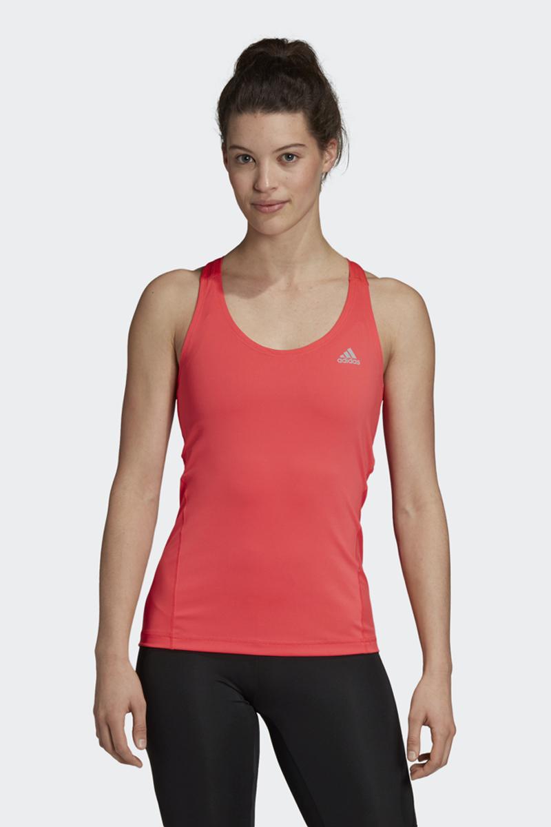 Майка женская Adidas Ask Spr Top Tk, цвет: красный. DU6511. Размер M (46/48)DU6511