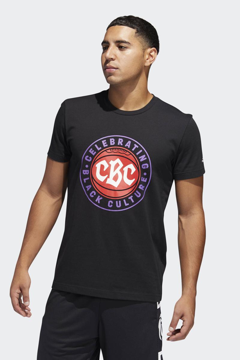 Футболка мужская Adidas Cbc Art, цвет: черный. DU6848. Размер M (48/50)DU6848