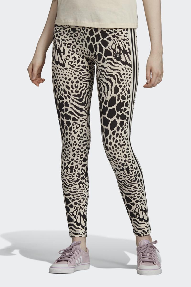 Леггинсы adidas Tights square fishnet tights