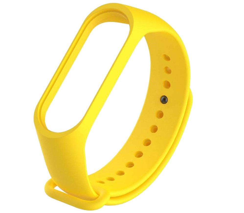 Ремешок для фитнес-браслета mi Xiaomi Mi Band 3, MiB3yellou, желтый