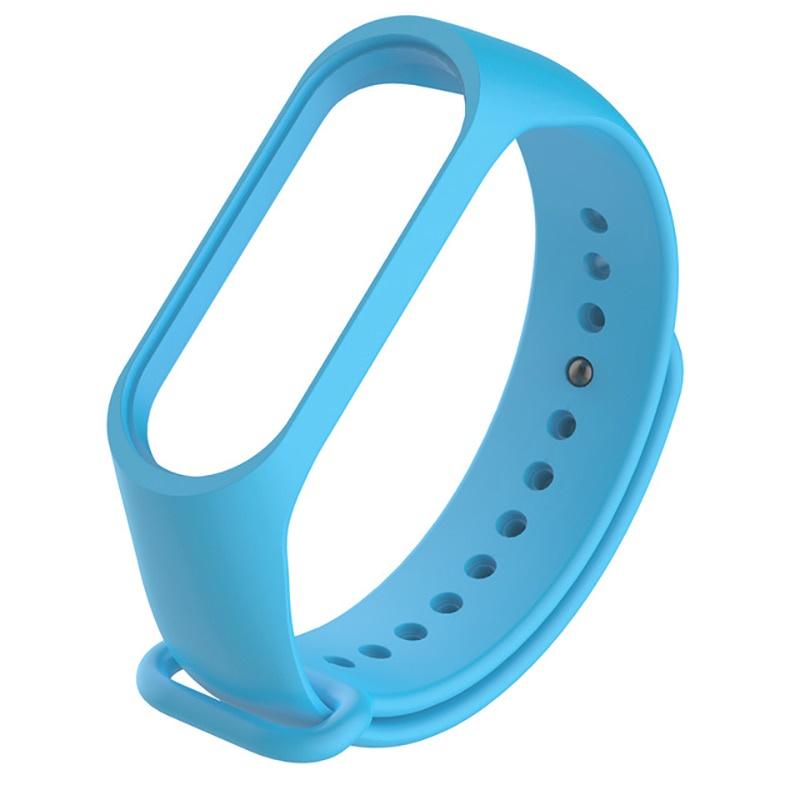 Ремешок для фитнес-браслета mi Xiaomi Mi Band 3, MiB3blue, голубой