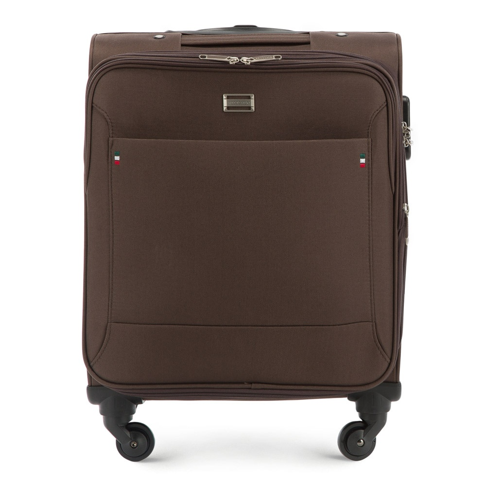 Чемодан Wittchen 56-3S-531, коричневый чемодан wittchen 56 3s 631 56 3s 631 13 черный