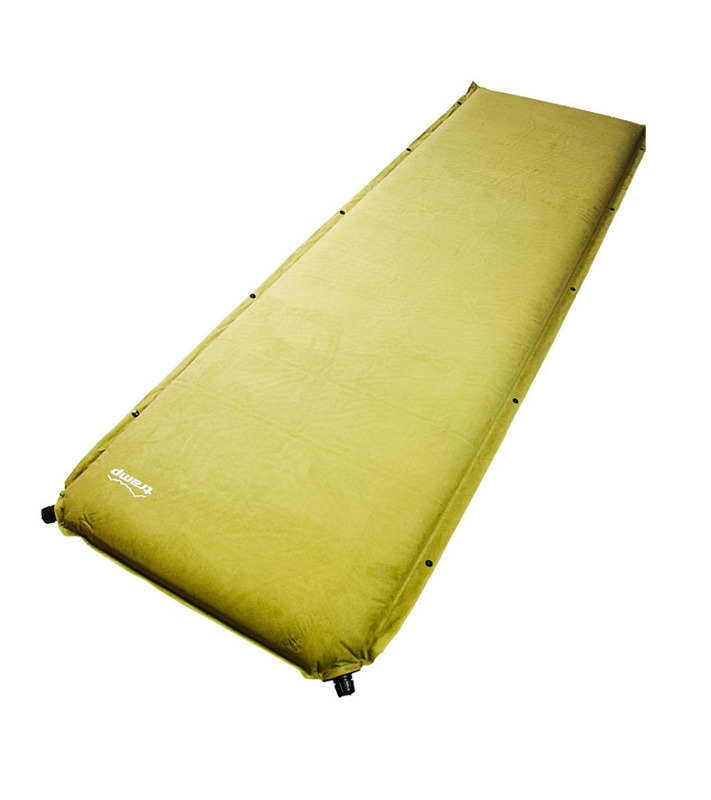 Коврик самонадувающийся Tramp Комфорт плюс, цвет: оливковый, 190 х 65 х 7 см. TRI-009