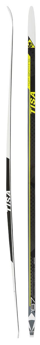 Лыжи беговые Tisa Top Skate, цвет: черный, зеленый, рост 187 см цены