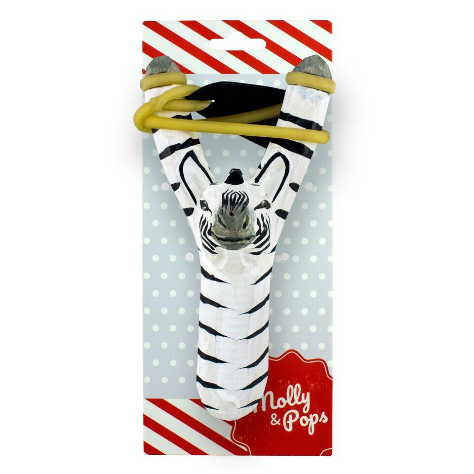 Рогатка игрушечная Molly&Pops Зебра, 2000000001883 белый, черный рогатка игрушечная molly