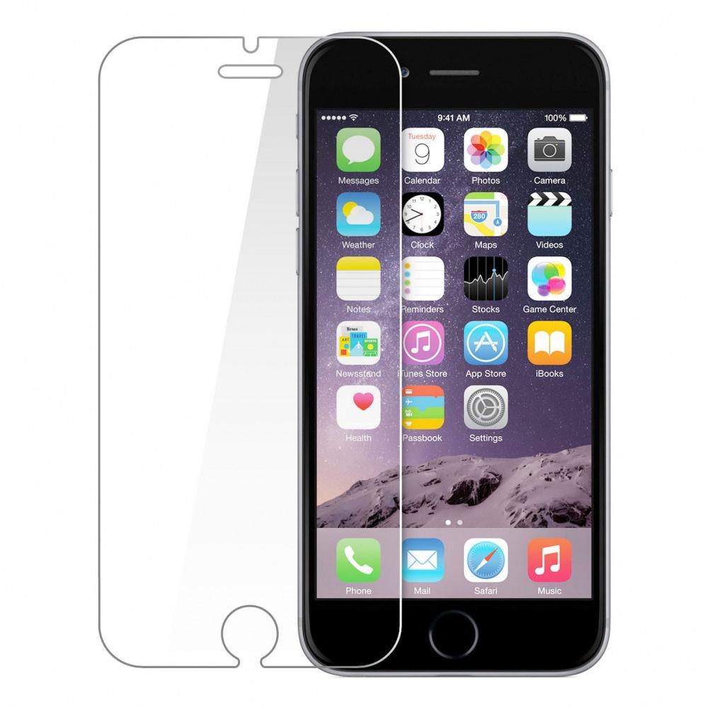 Защитное стекло Tempered Glass iPhone 6 plus, IP6+pr, прозрачный mediagadget стекло защитное tempered glass iphone 6 plus прозрачное