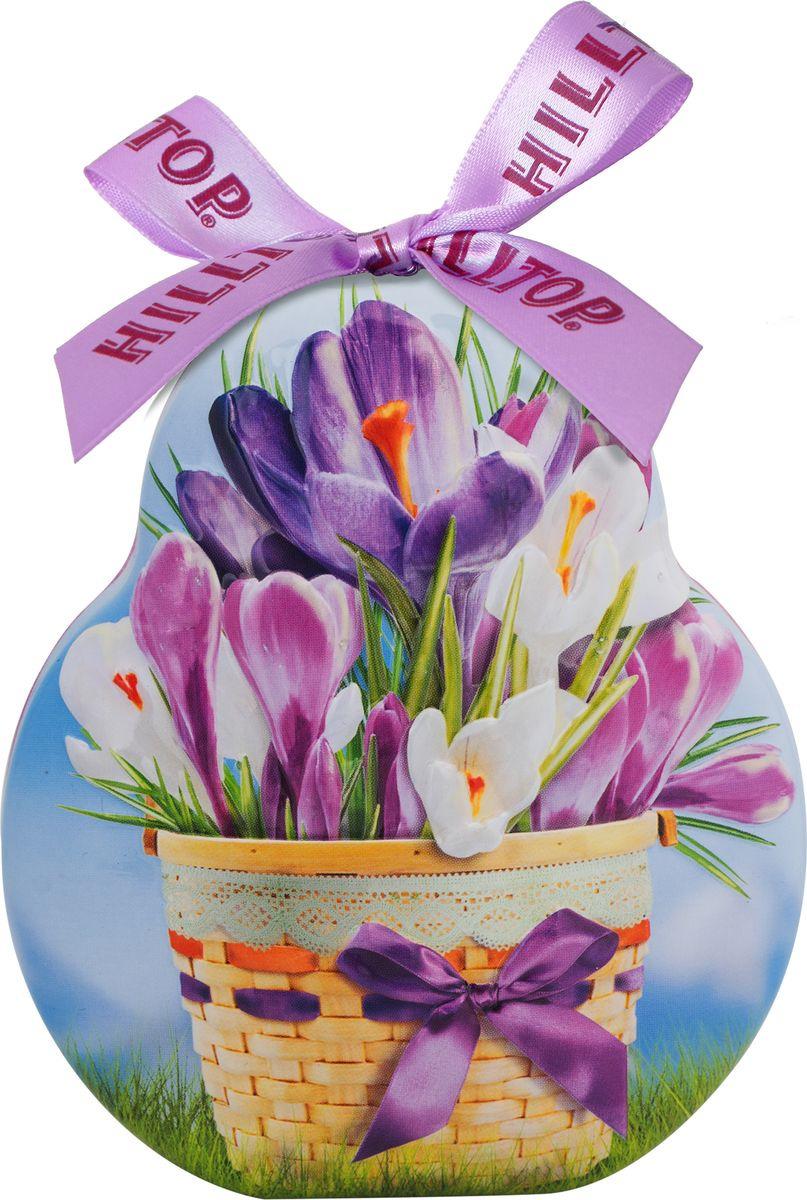 Подарочный чайный набор Hilltop Эрл Грей Весенний сюрприз Фантазия, в футляре Крокус, 50 г hilltop новогодние подарки чайный набор