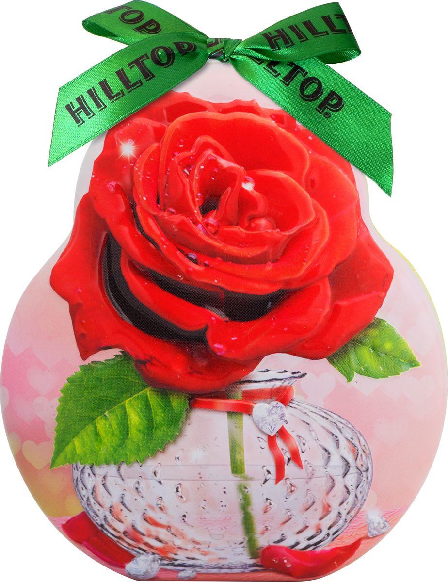 Подарочный чайный набор Hilltop Королевское золото Весенний сюрприз Фантазия, в футляре Роза, 50 г hilltop новогодние подарки чайный набор