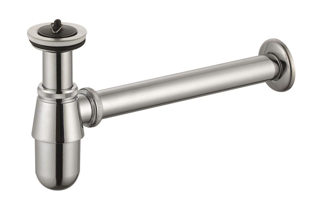 Сифон ORE для раковины, 70799886073827079988607382Сифон для раковины SW114B. Подходит для большинства раковин для ванных комнат. Оснащен выпуском и пробкой. Размер выпуска 1 1/4 дюйма, Размер слива сифона - 32 мм. Материал - хромированная сталь.