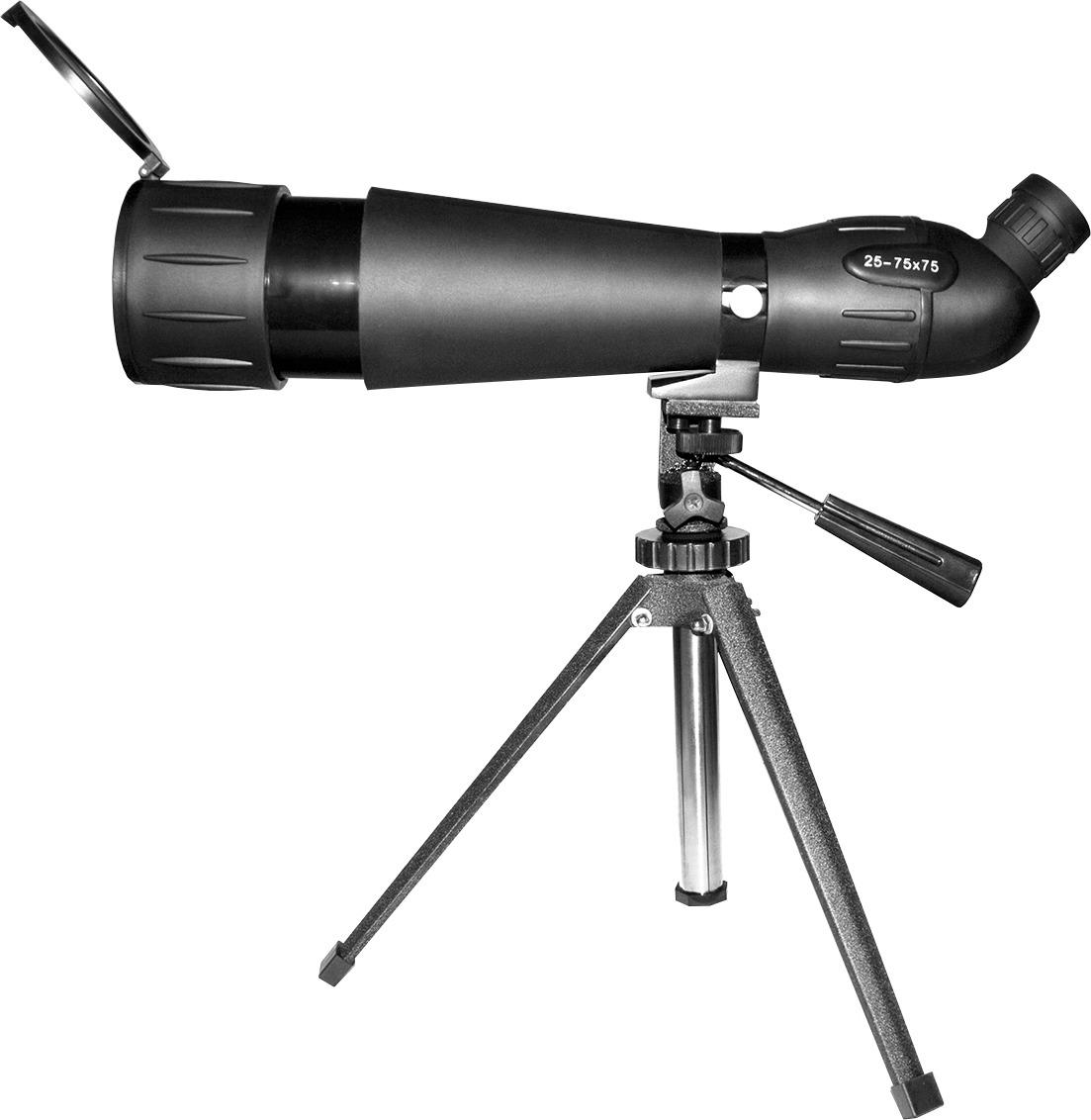Зрительная труба Sturman 25-75х75, 1591, черный