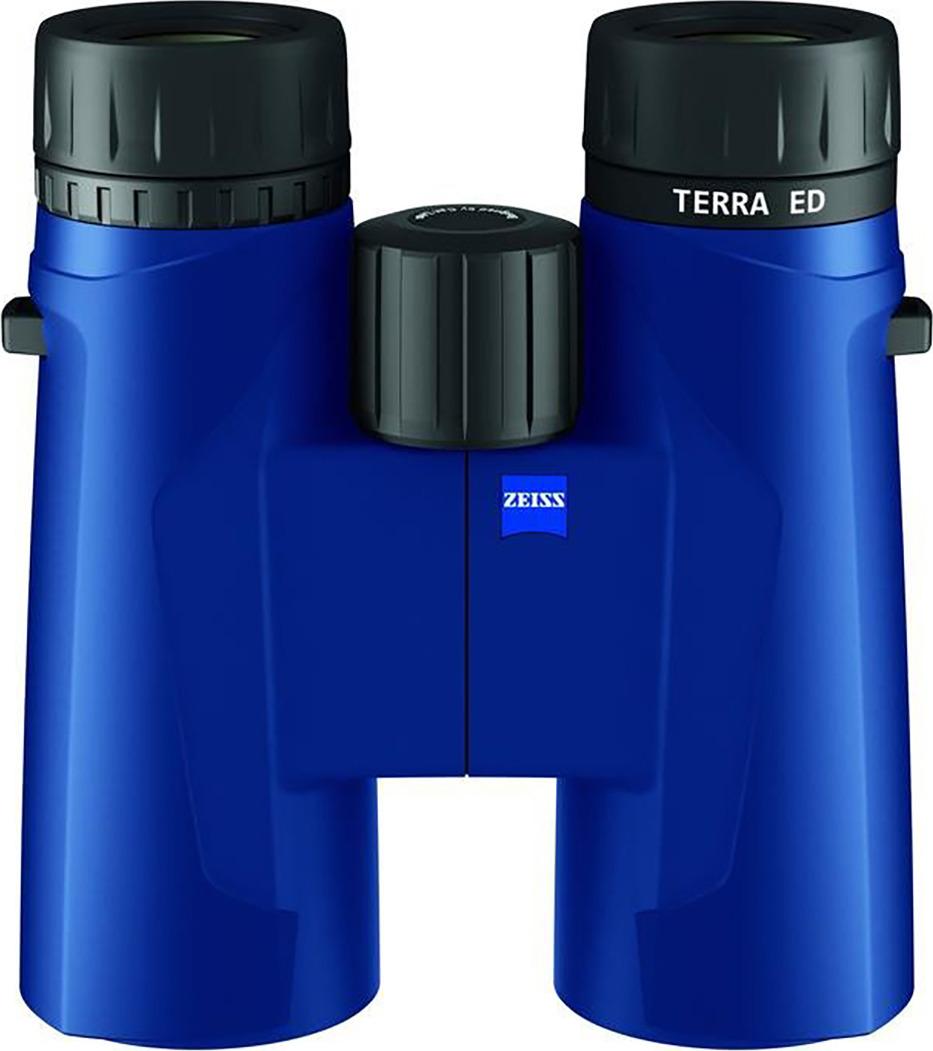 Бинокль Carl Zeiss Terra ED 10x42, 5603, синий carl zeiss 8x32 terra ed gray бинокль
