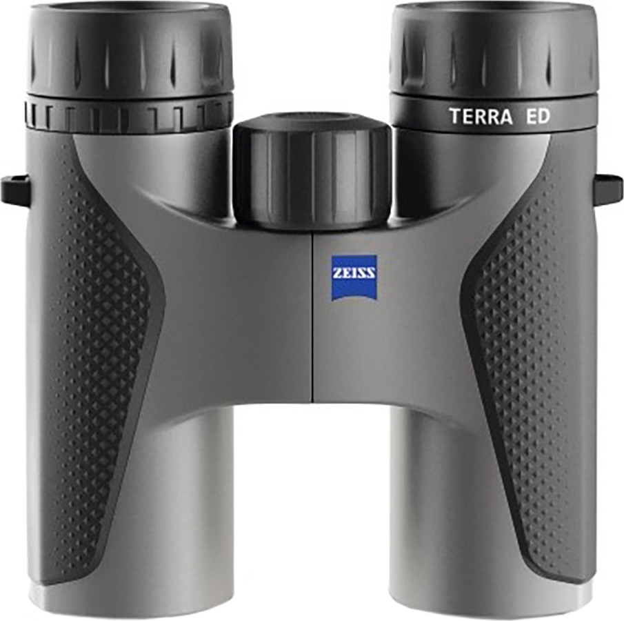 Бинокль Carl Zeiss Terra ED 8x32, 7616, серый бинокль carl zeiss 10x42 hd conquest