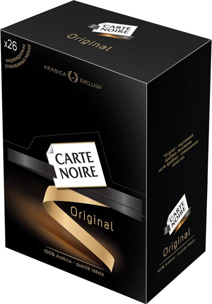 Carte Noire Original кофе растворимый в пакетиках, 26 шт кофе растворимый carte noire 150грамм [4251952]