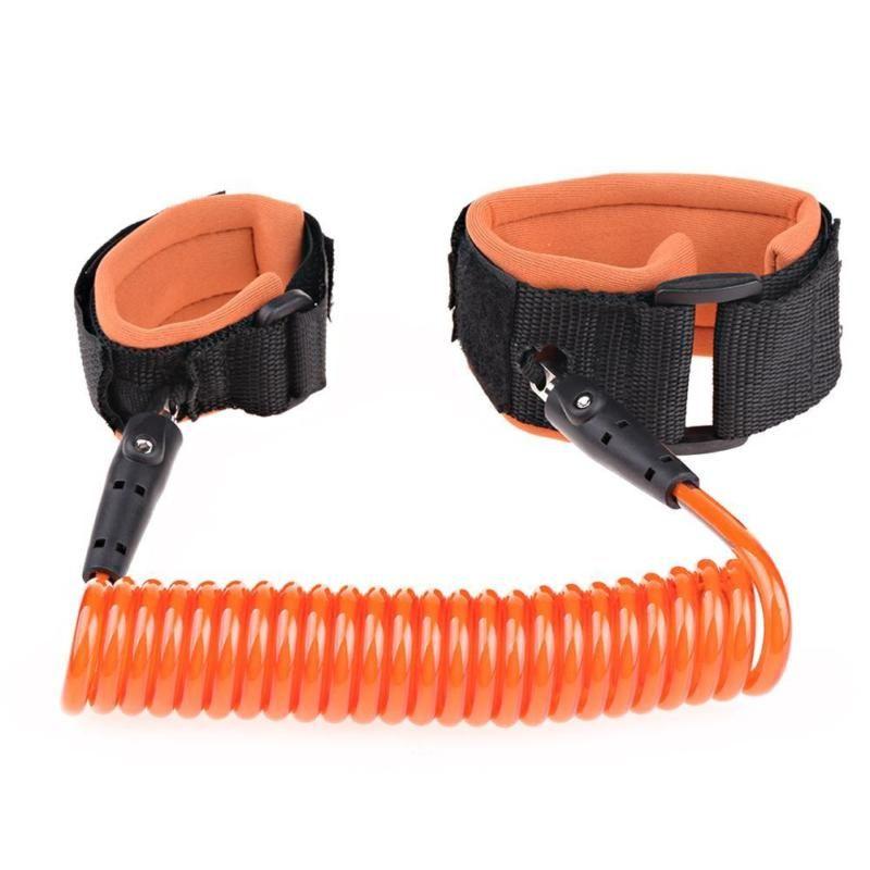 Вожжи-поводок MARKETHOT для прогулки оранжевый