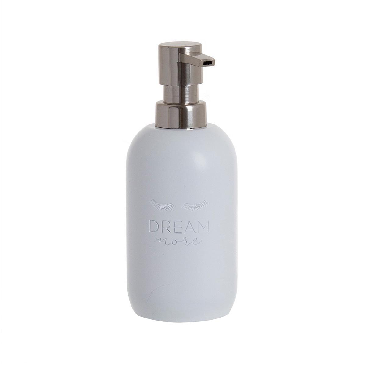 Диспенсер для мыла D'casa Chic, 350 мл, белый кружка d casa chic цвет белый 350 мл