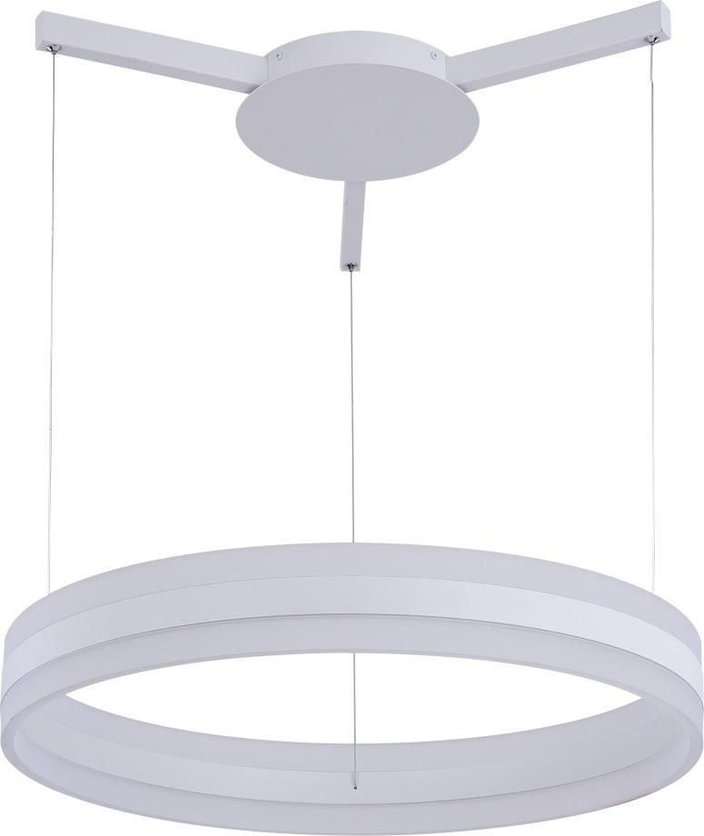 Подвесной светильник Arte Lamp Sorento, A2501SP-1WH, белый