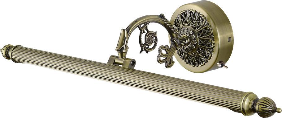 Настенный светильник Arte Lamp Bari, A6708AP-1AB, бронза