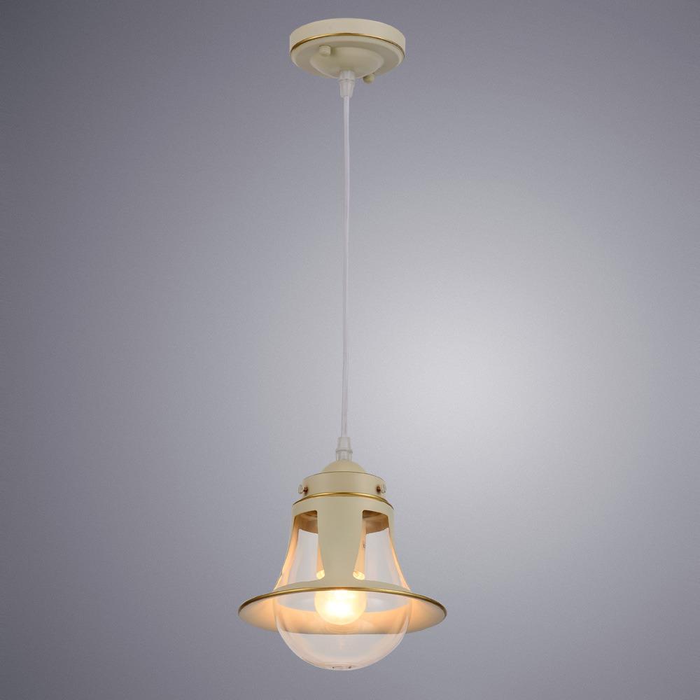 Подвесной светильник Arte Lamp Marino, A7022SP-1WG, золотойA7022SP-1WGПревосходная модель от итальянской компании Arte Lamp. Светильник Marino сделает ваш интерьер современным, стильным и запоминающимся!Материал основания: металл крашеныйДиаметр основания: 100 ммМаксимальная высота: 800 мм