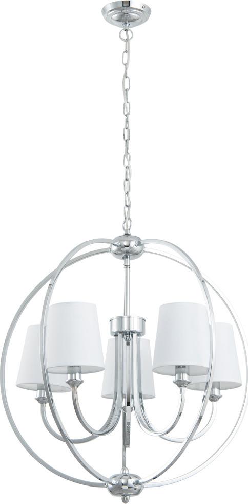 Подвесной светильник Arte Lamp Patricia, A9022SP-5CC, серый металликA9022SP-5CCПревосходная модель от итальянской компании Arte Lamp. Светильник Patricia сделает ваш интерьер современным, стильным и запоминающимся! Материал основания: металл гальванизированный Диаметр основания: 120 ммМаксимальная высота: 1200 мм