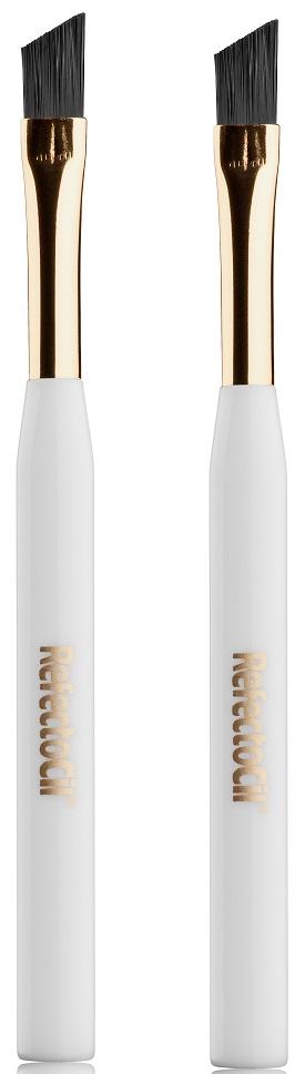 Косметическая кисть RefectoCil для нанесения краски жесткая 2 шт