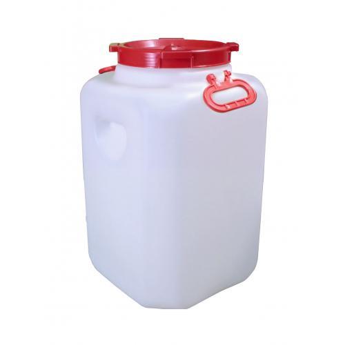Канистра для воды Альтернатива Квадратная бочка 60 литров с ручками, 00074, белый gauss filament candle tailed golden e14 5w 230v белый свет
