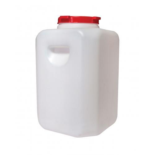 Канистра для воды Альтернатива Пластиковая бочка, белый