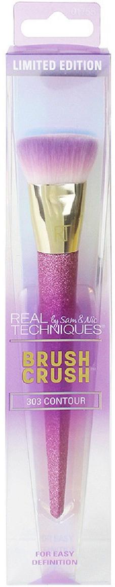 Кисть для контуринга Real Techniques Brush Crush 303 Contour, розовый
