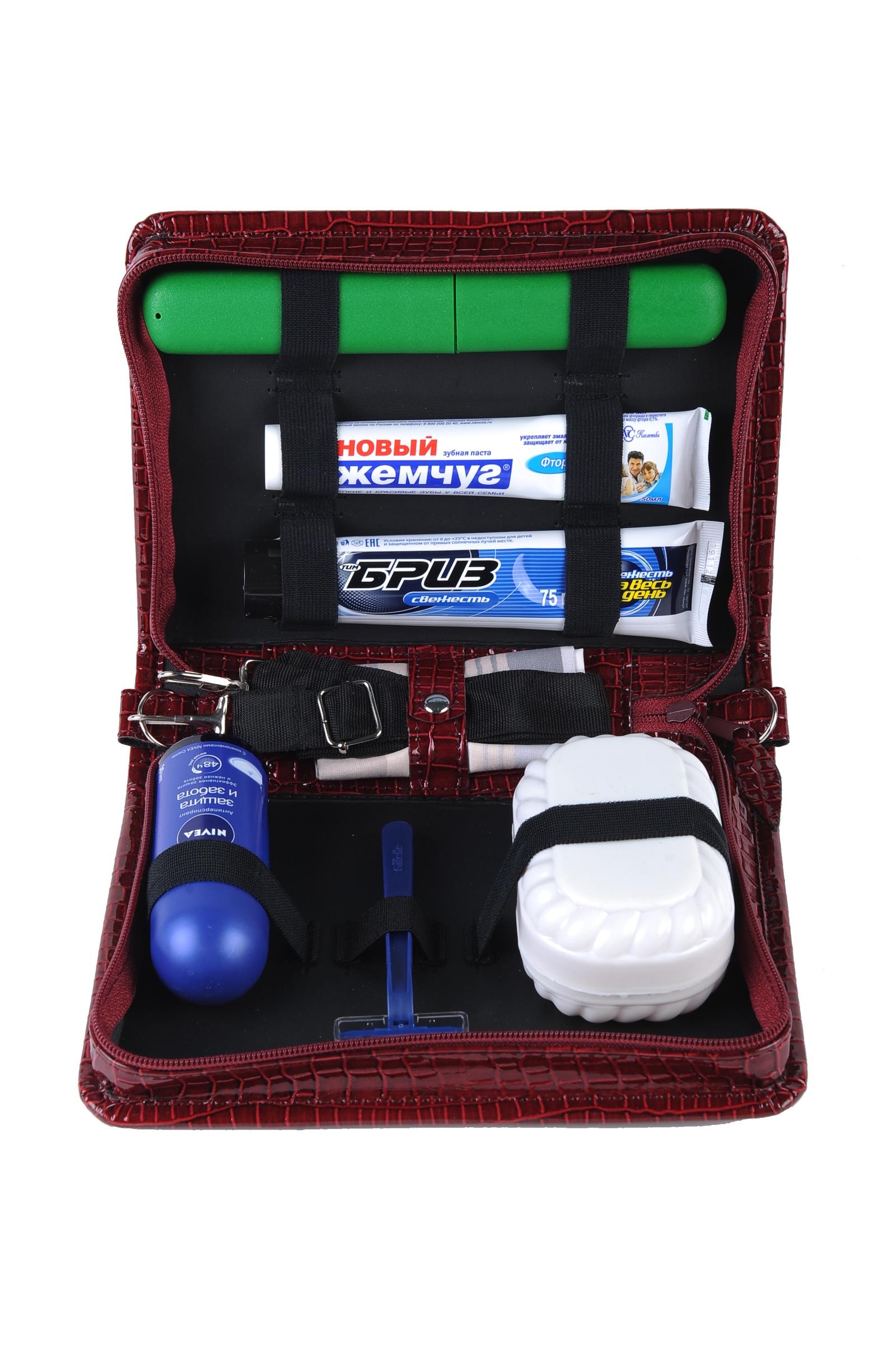 Набор инвентаря Мастер Дизайн 411, 411, бордовый набор дорожный мыльница зубная щетка и футляр мультидом tl34 93 в ассортименте