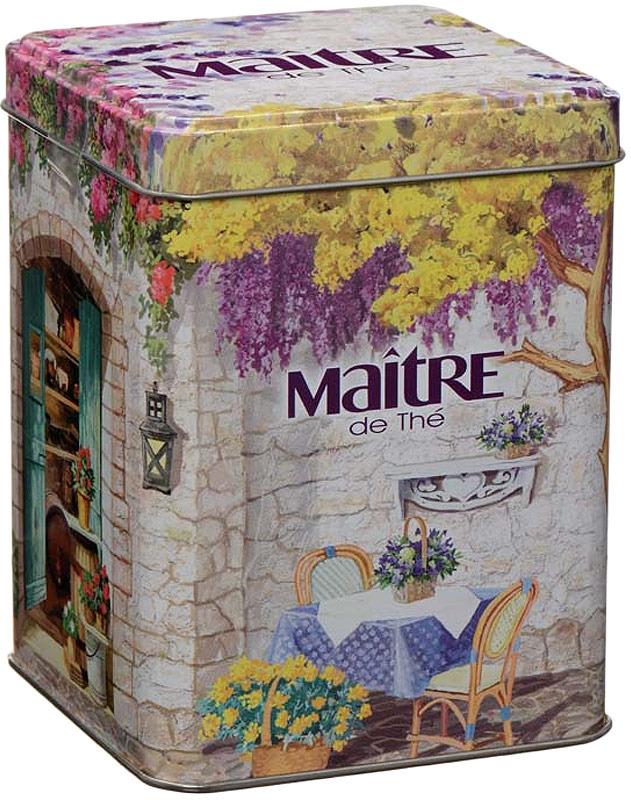 Чай листовой Maitre de The Прованский дворик, 90 г basilur frosty afternoon черный листовой чай 100 г жестяная банка