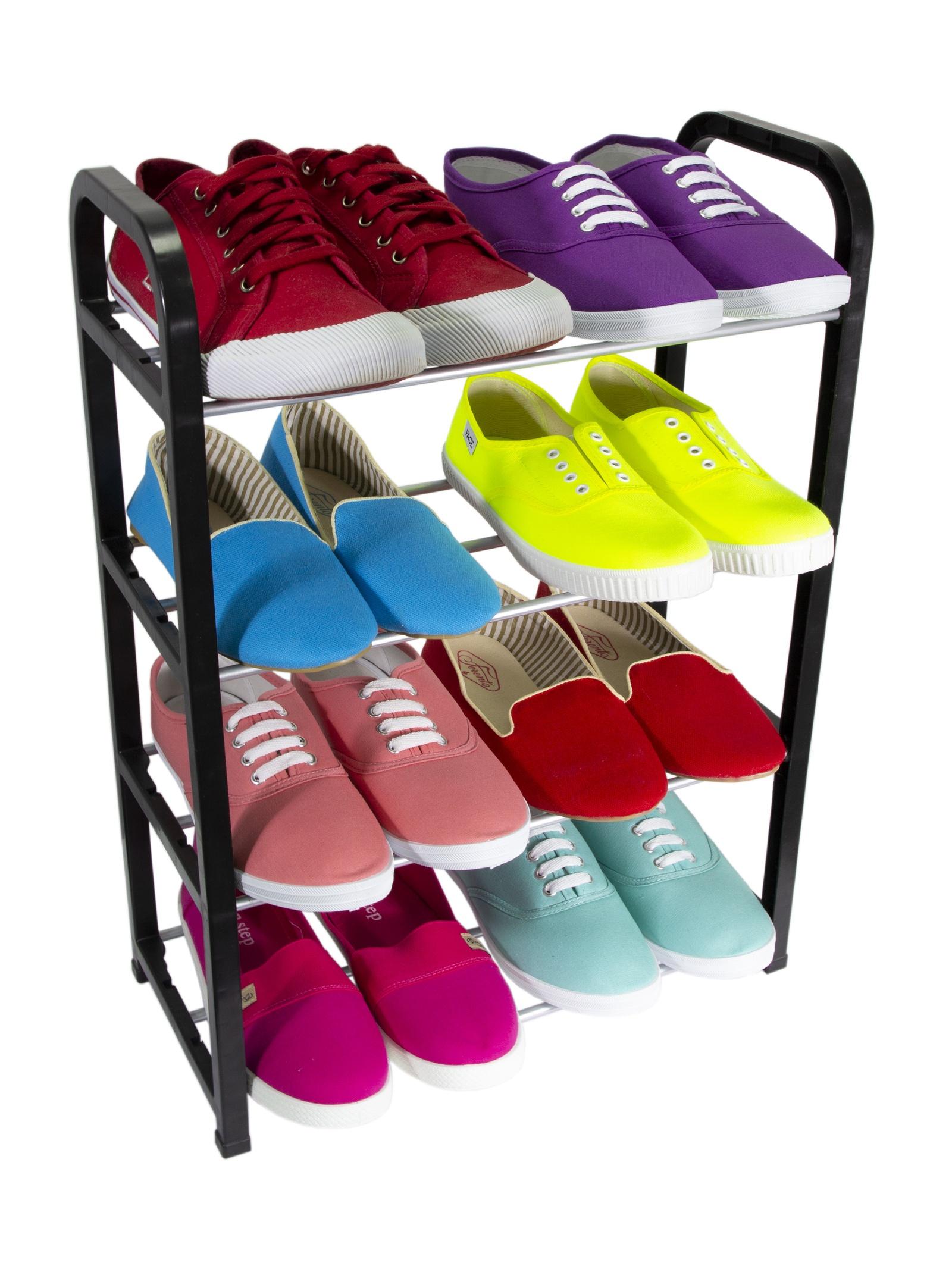 Этажерка UniStor Этажерка для обуви, 210174 этажерка пм д обуви 4 х секцион ажур м2514 альтерн 1 1204559
