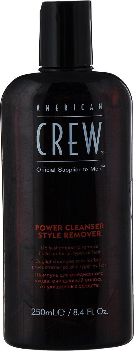 American Crew Шампунь для ежедневного ухода, очищающий волосы от укладочных средств Classic Power Cleanser Style Remover 250 мл