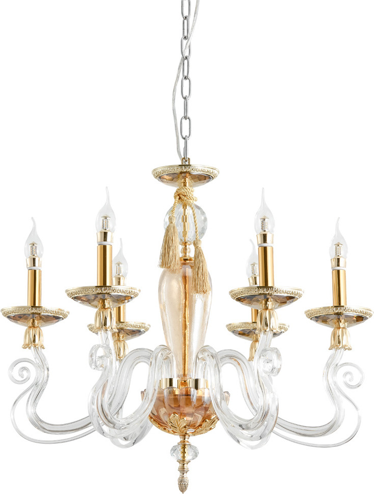 Подвесной светильник Divinare Laura, E14, 40 Вт подвесной светильник astral agnes 12 ламп